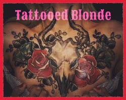 Tattooed Blonde