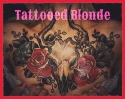 Tattooed Blonde